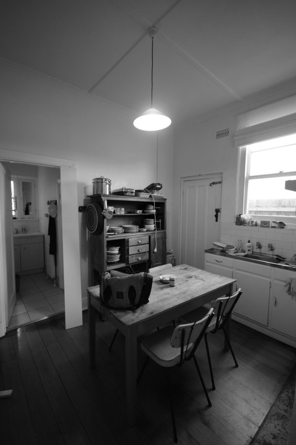 Medium before kitchen2 bw