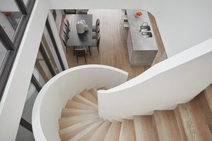 Small cressy street townhouses stair 01