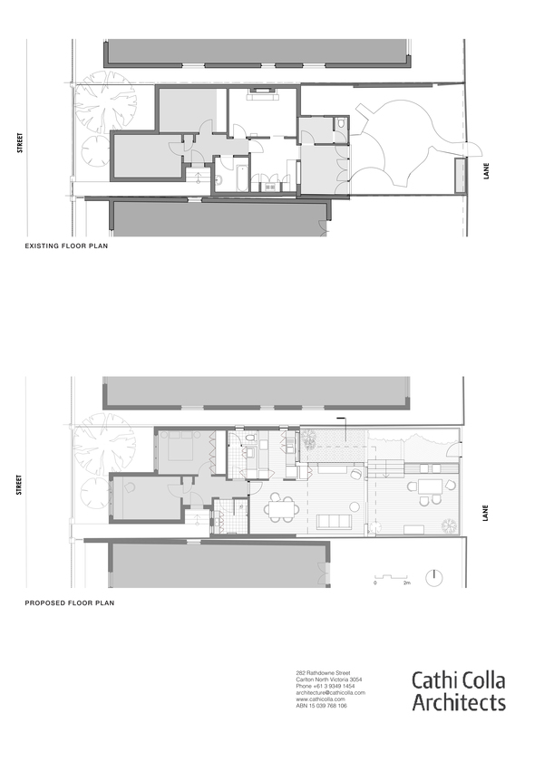 Medium ground floor plans
