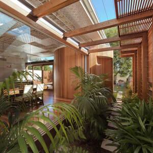 Large thumb peasinapod pavers garden  1