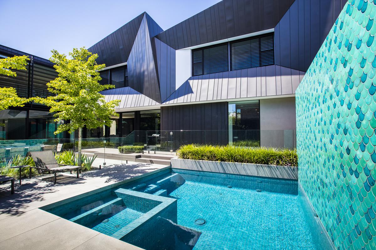 Bayside project ian barker gardens bowerbird for Barker landscape architects