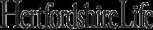 Small hertfordshire life logo